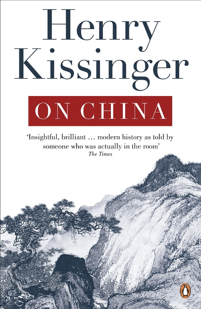 Book Cover of On China. Source: Penguin Books Australia.