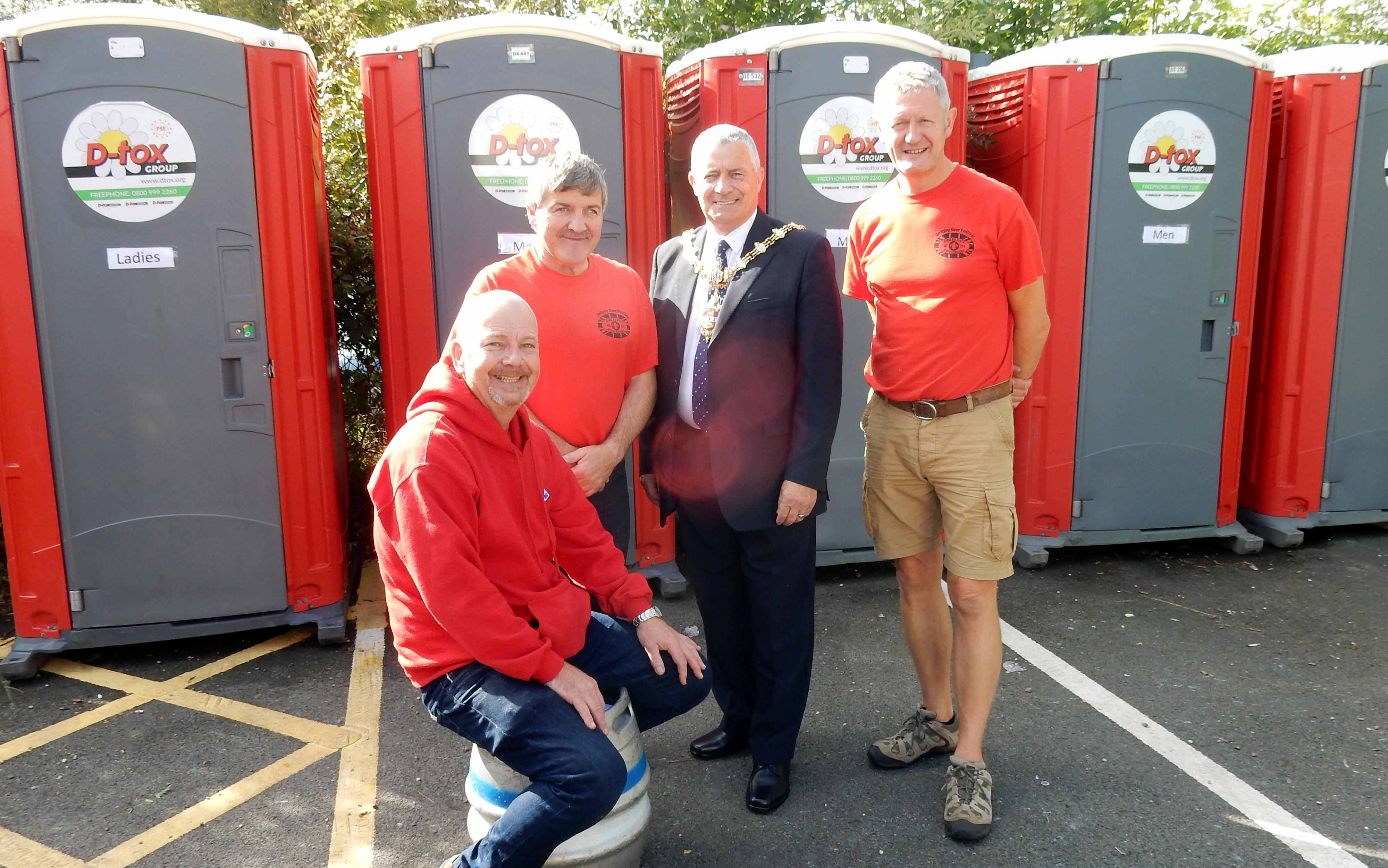 Sedgeley charity toilet hire