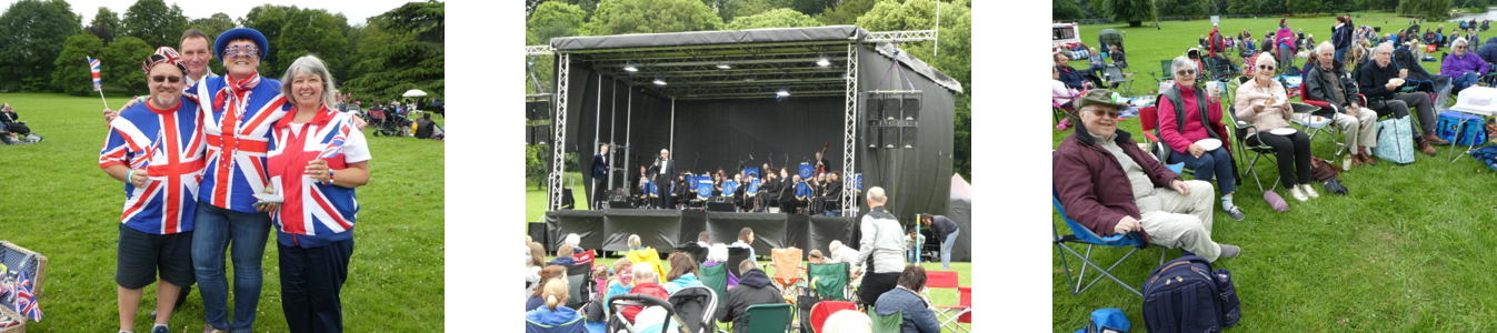 D-tox supported Rotary Club of Stourbridge with event toilet hire for its Proms in the Park concert at Himley Hall
