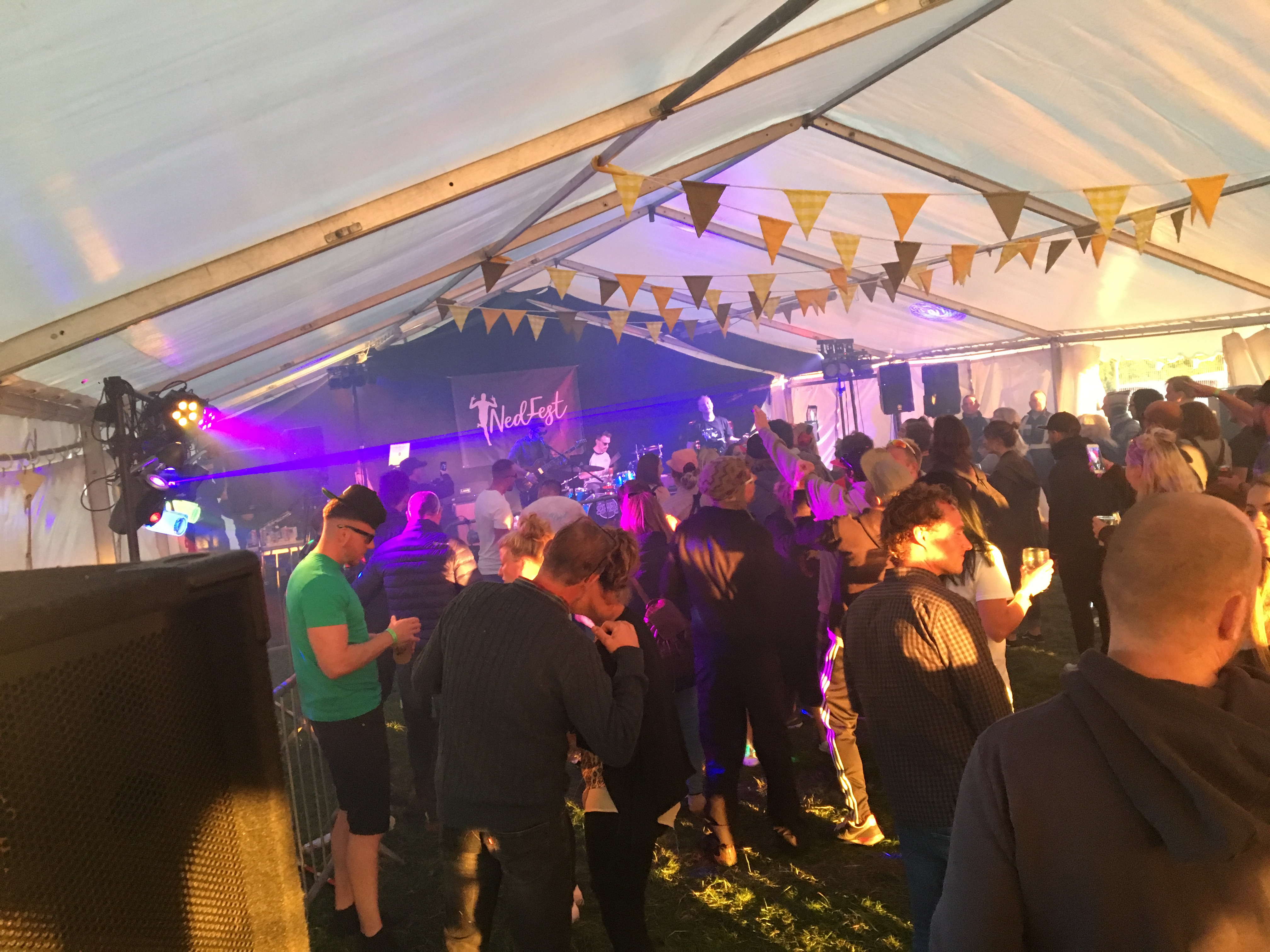 Nedfest Festival marquee, Tamworth