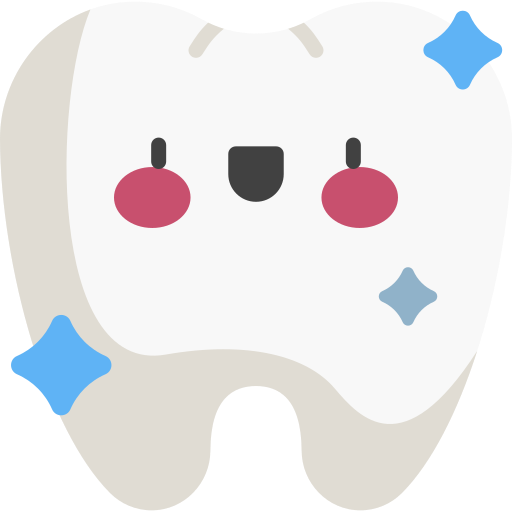 Icon showing a happy tooth because at Blackburn Orthodontics you will leave happy.