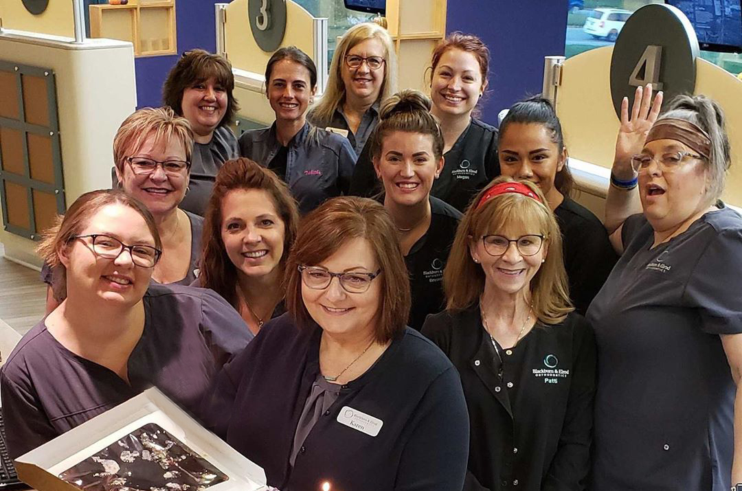 A picture of the best orthodontic team in Independence, Missouri.