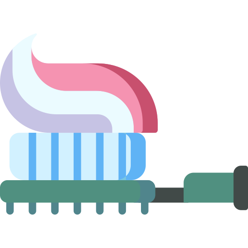 Tooth Brush icon showing how you can earn Blackburn Orthodontics braces and Invisalign points.