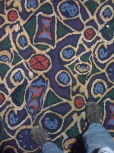 Seattle Movie Theater carpet