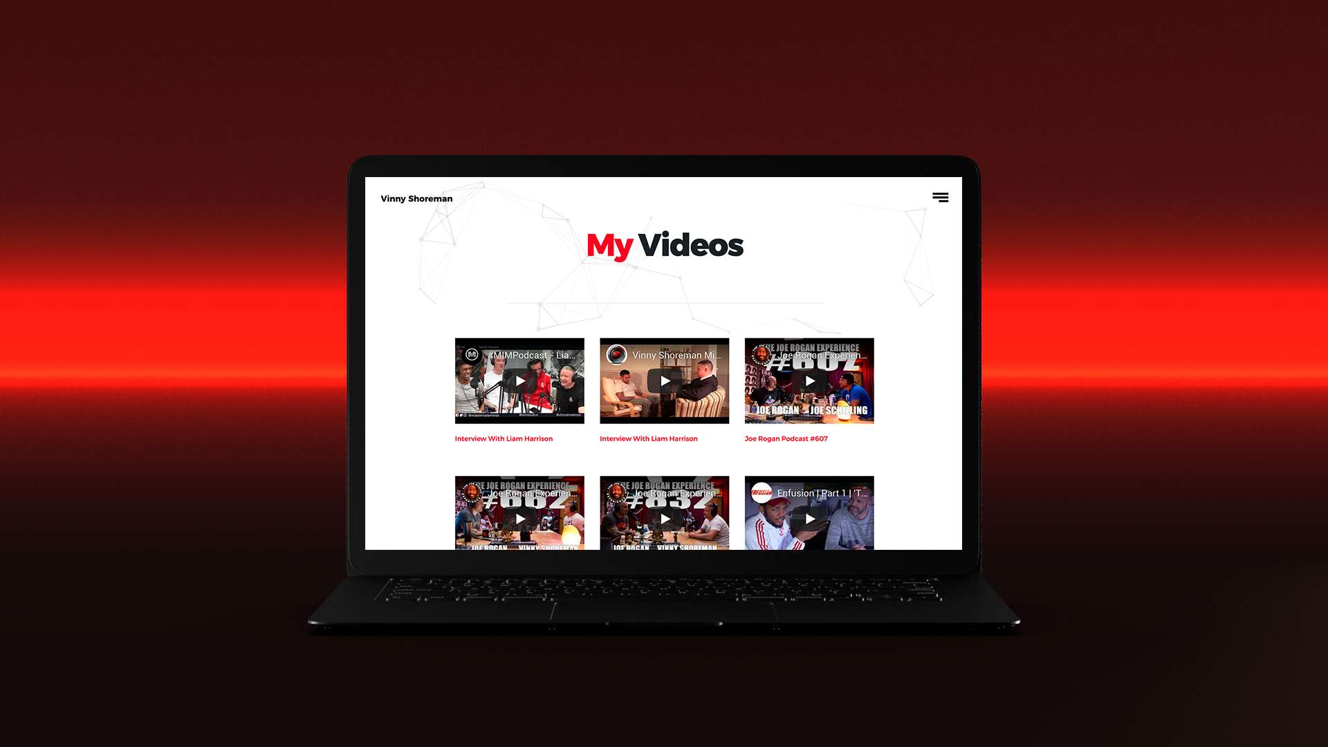 vinny shoreman website 4