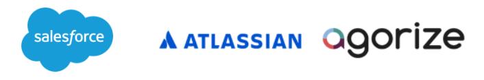 Onova's design sprint and open innovation partner portfolio: Salesforce, Atlassian, Agorize.