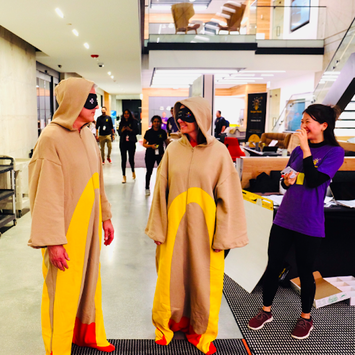 McDonald's ran its second annual global challenge, where 75 teams located in 7 different countries worked for 24 hours to develop innovative solutions across three different categories: Restaurants, Corporate Innovation, and Corporate Social Responsibility.