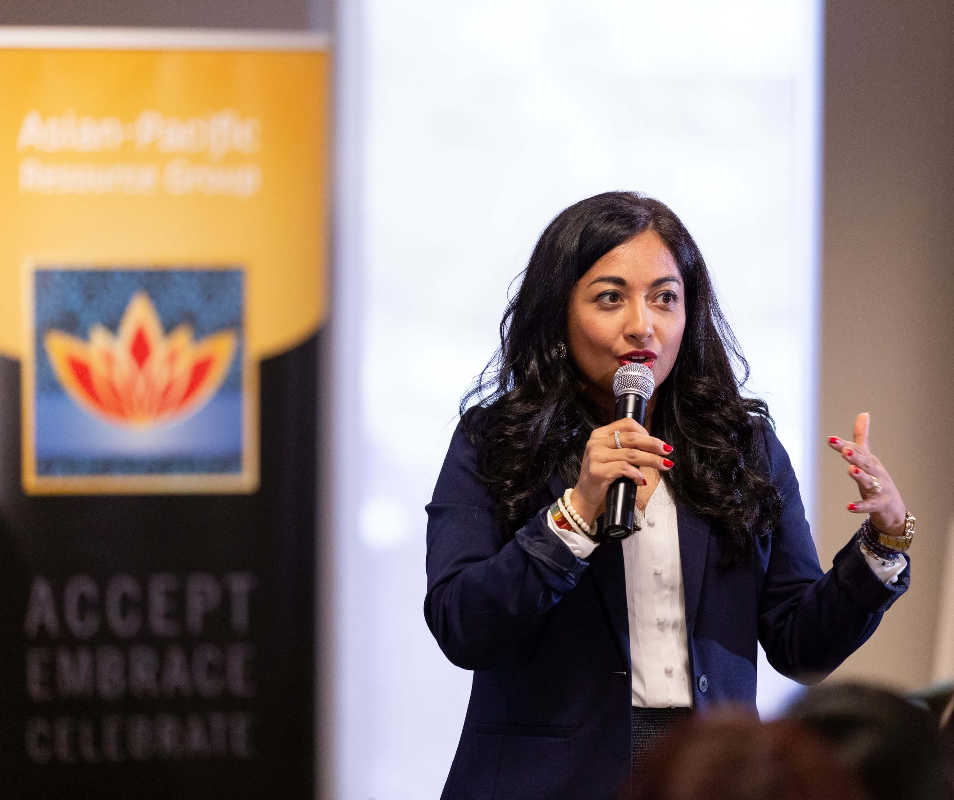 Farzana Nayani Keynote Speaker on Employee Resource Group ERG