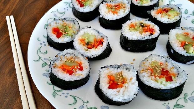Sushi chay