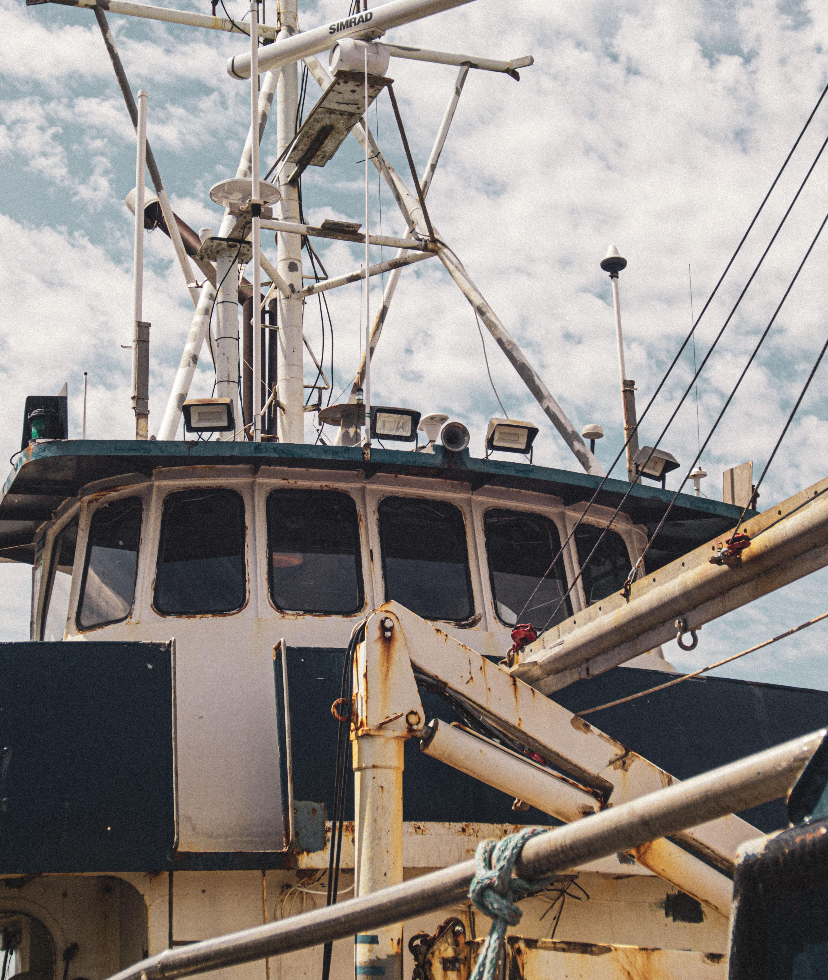Commercial fishing boat in Bellingham