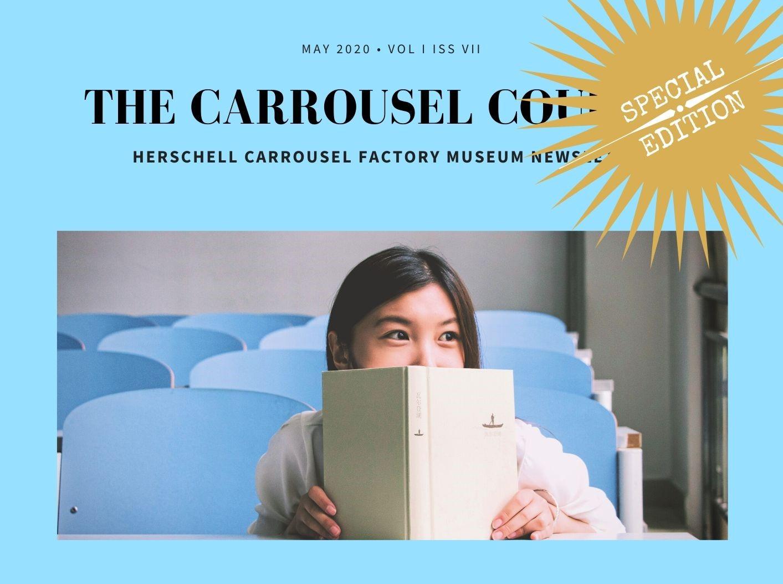 Carrousel Courier Jr. logo