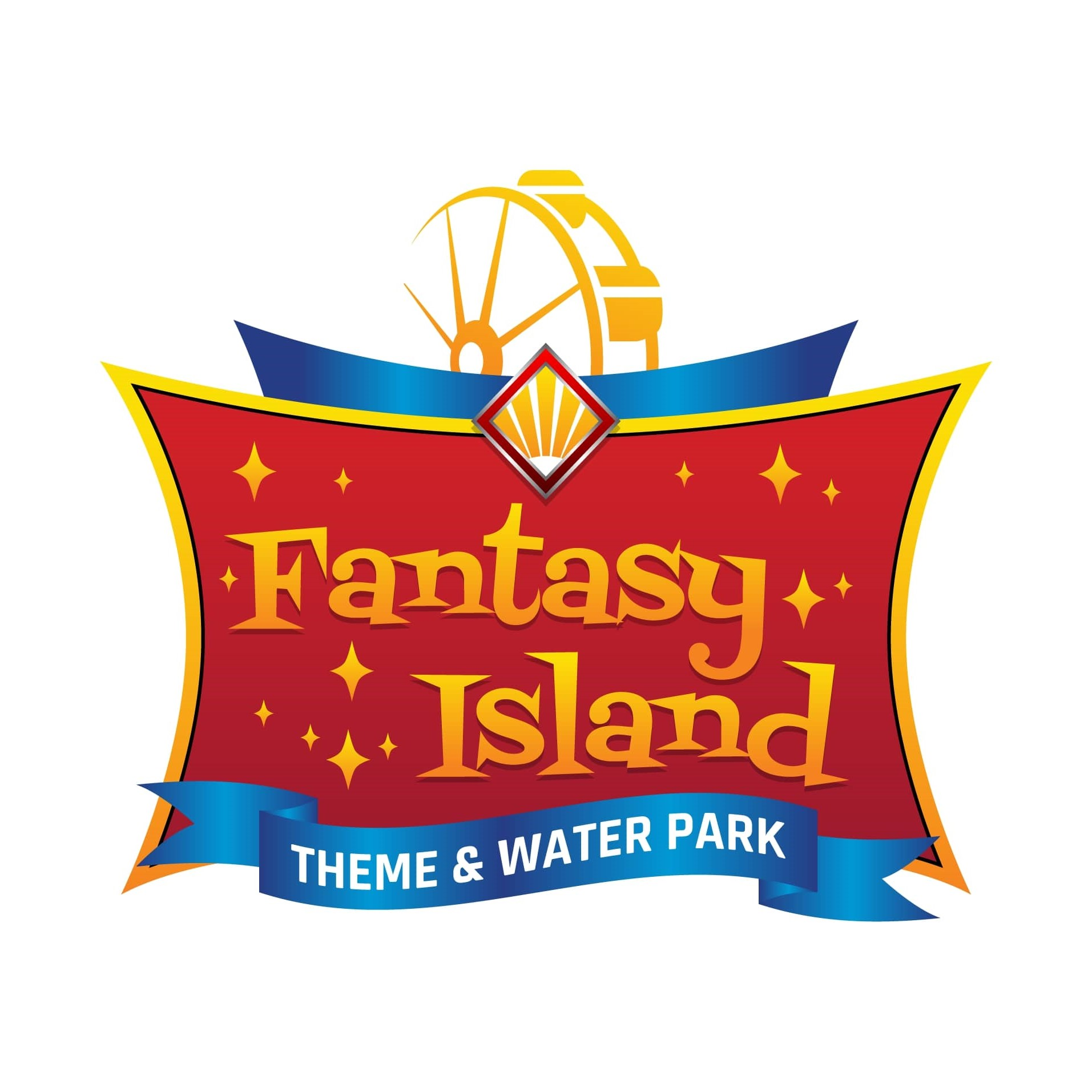 Fantasy Island Theme & Water Park logo