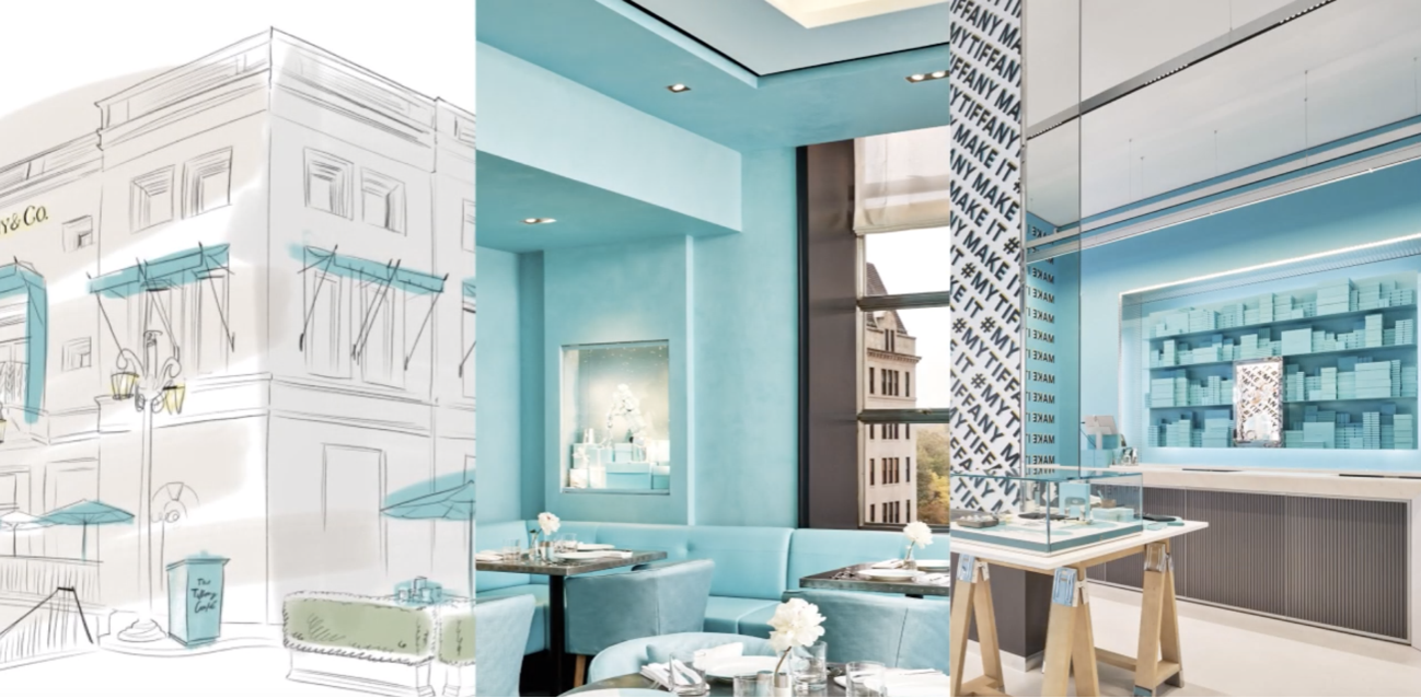 Tiffany & Co color palette