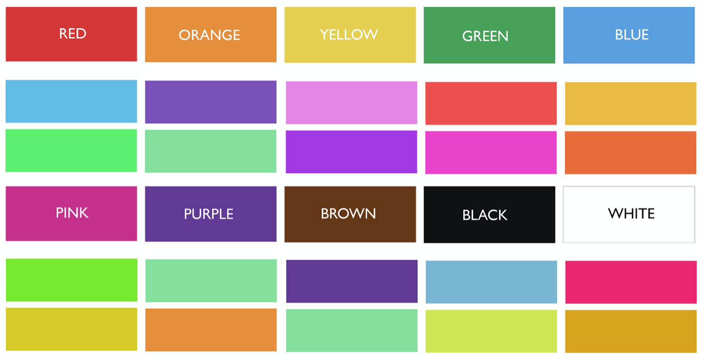 what colors go with which, best color combinations