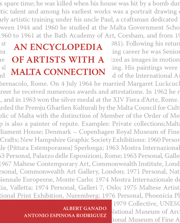 An Encyclopedia of Artists with a Malta Connection