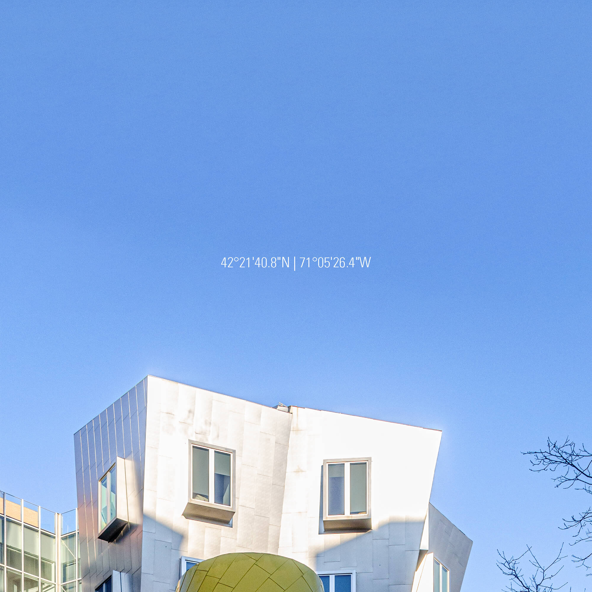 architecture photographie photographe paris Come bocabeille studio cob photo frank gehry ray and maria stata center cambridge