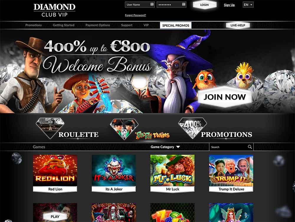 Diamond Club VIP