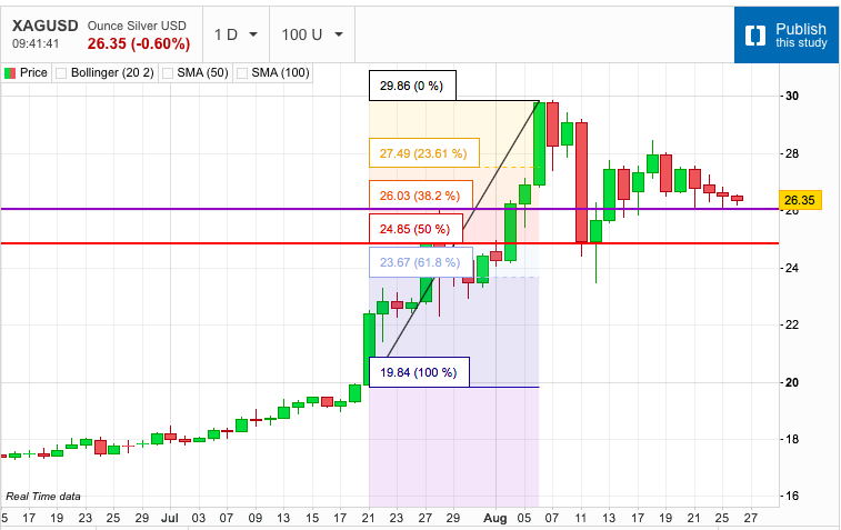 A Look at the Silver Retracement