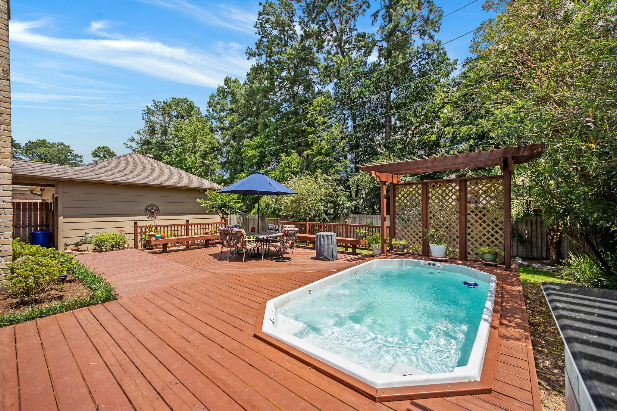 Deck and Swim spa