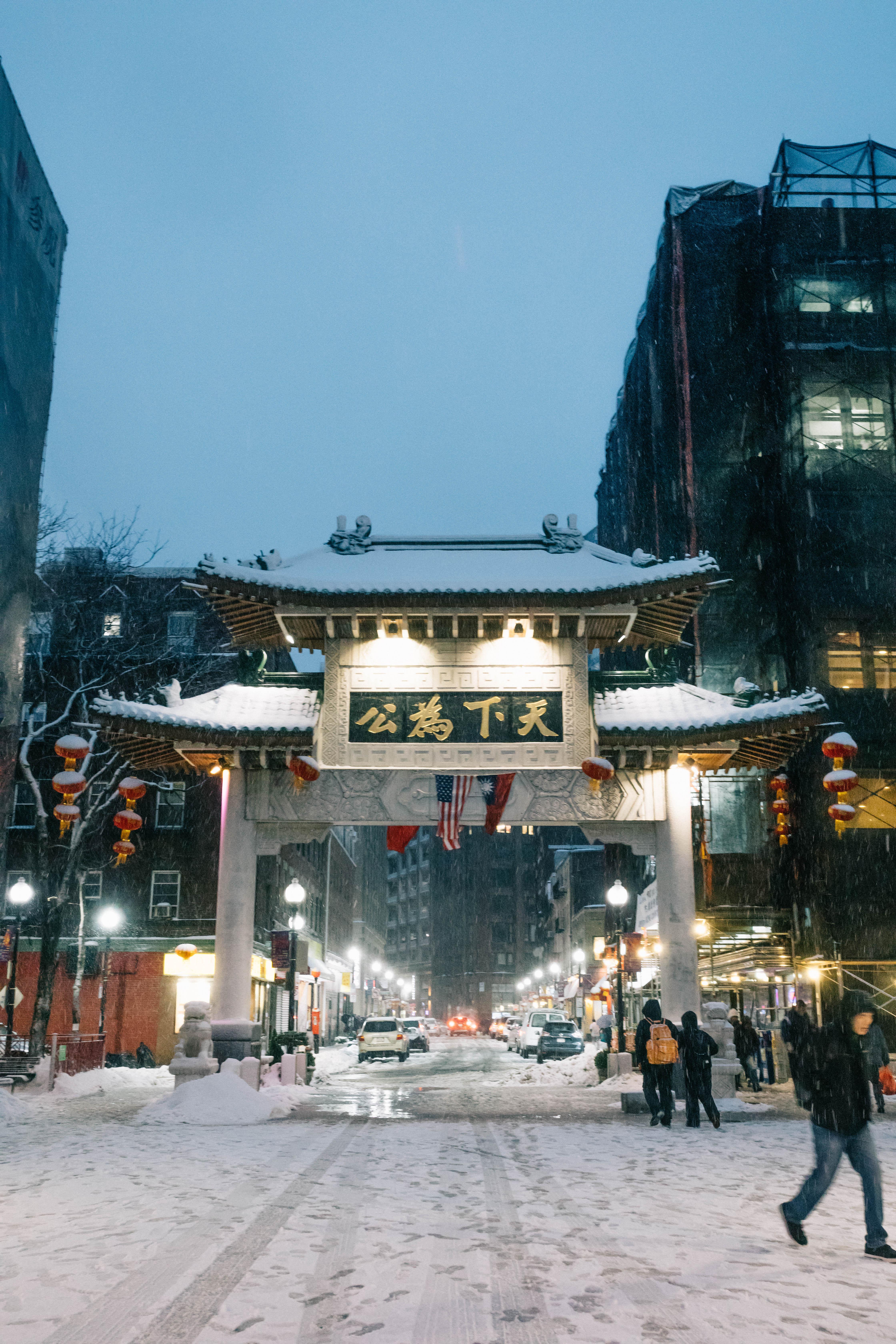 Chinatown Winter