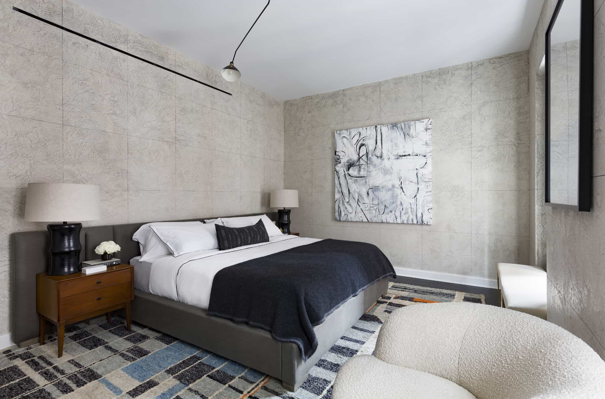 Samuel Amoia Interior design for Upper East Side Apartment