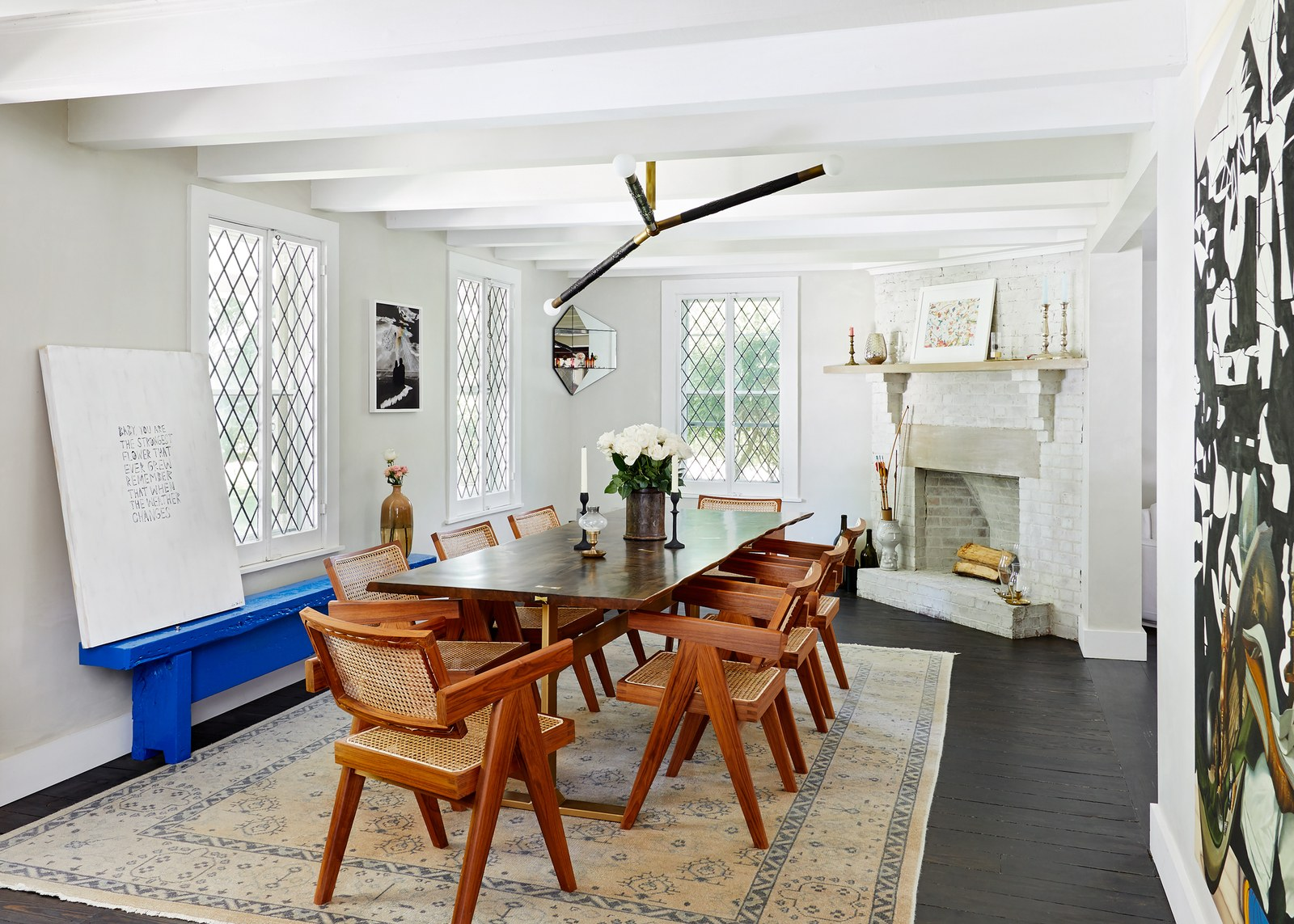 Samuel Amoia Southampton Home Interior design renovation for 1800s-era Tudor home