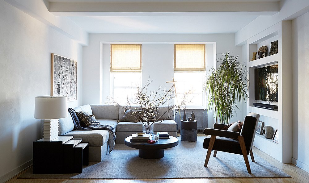 Samuel Amoia Apartment interior renovation in West Chelsea