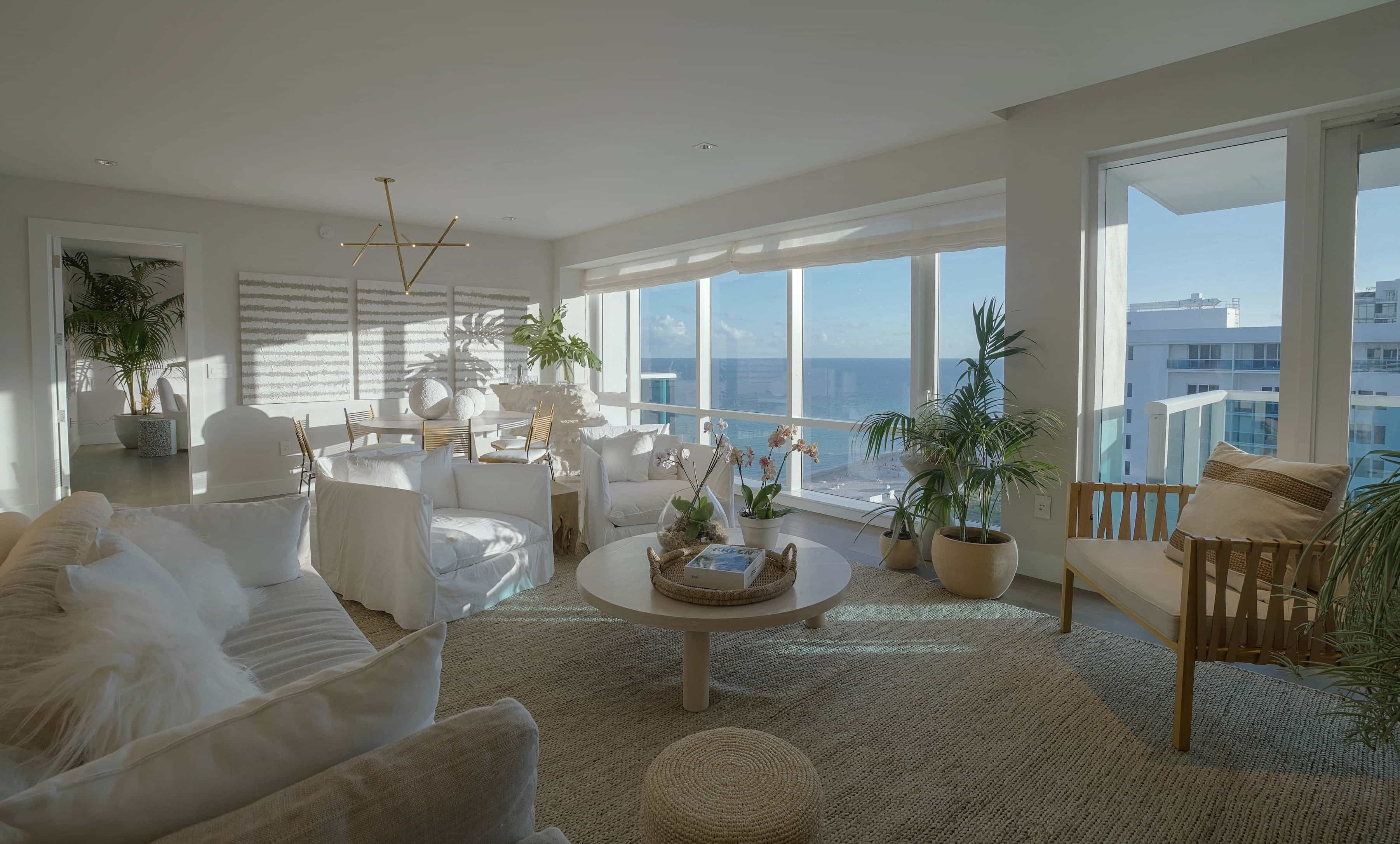 Samuel Amoia Samuel Amoia Interior design for Penthouse at the 1 Hotel in South Beach
