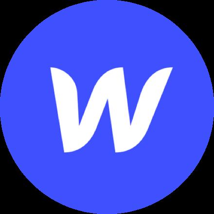 Round Webflow logo.