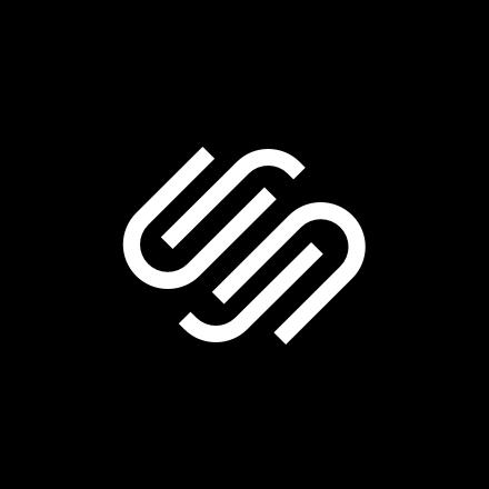 Round Squarespace logo.