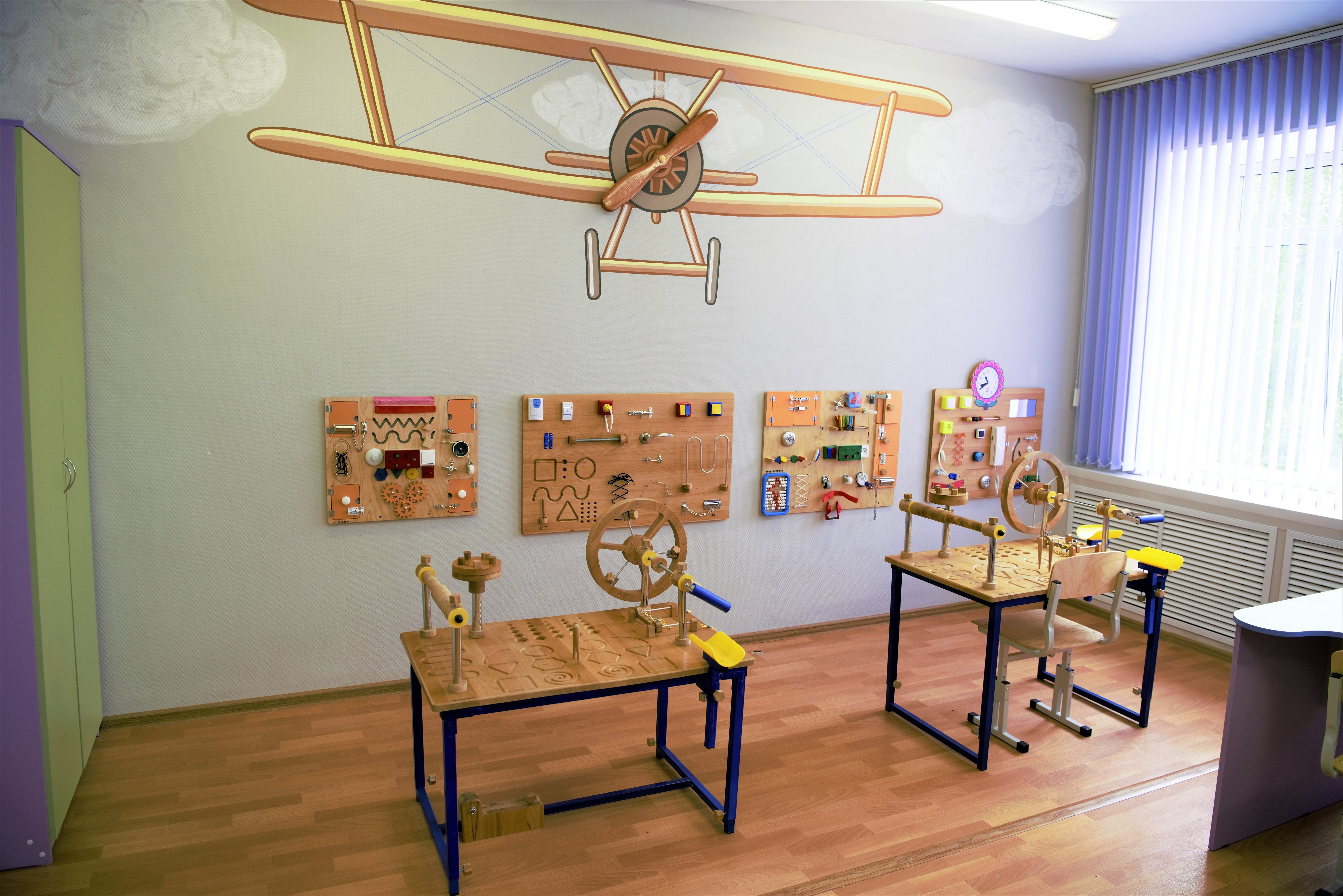 Столы механотерапии и бизиборды