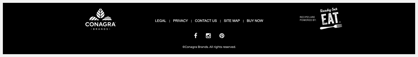 Section 5 of Frontera's website.