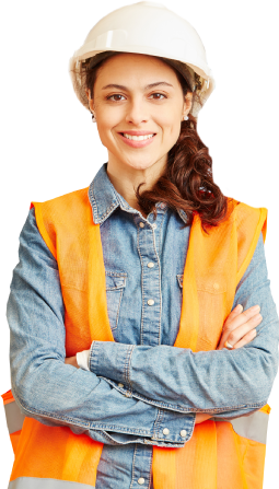Image of employed woman.