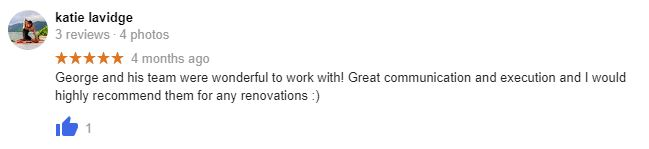 review from eastern suburbs customers