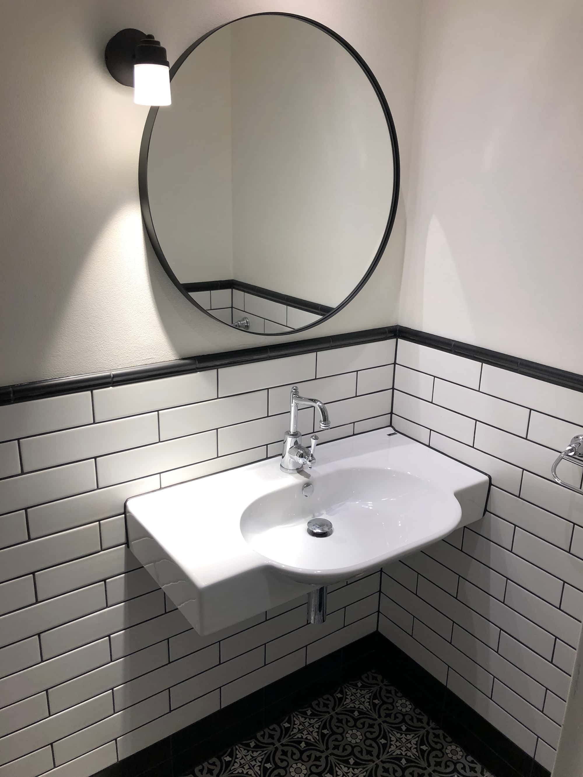 picture of bathroom renovation in surry hills