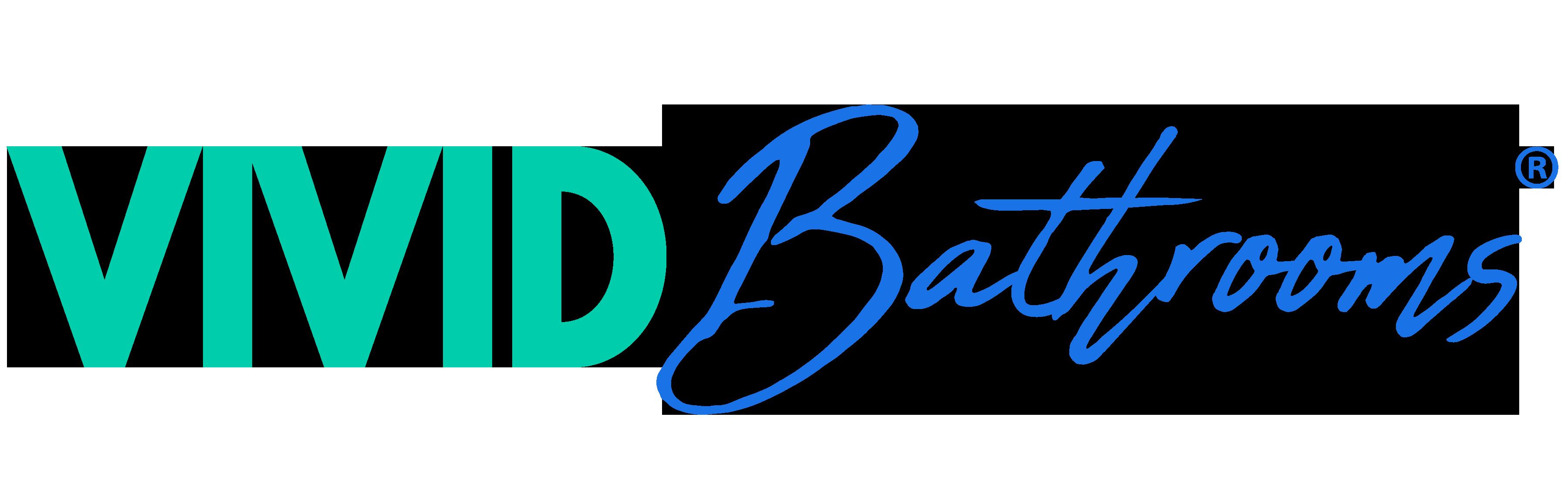 vivid bathroom renovation logo