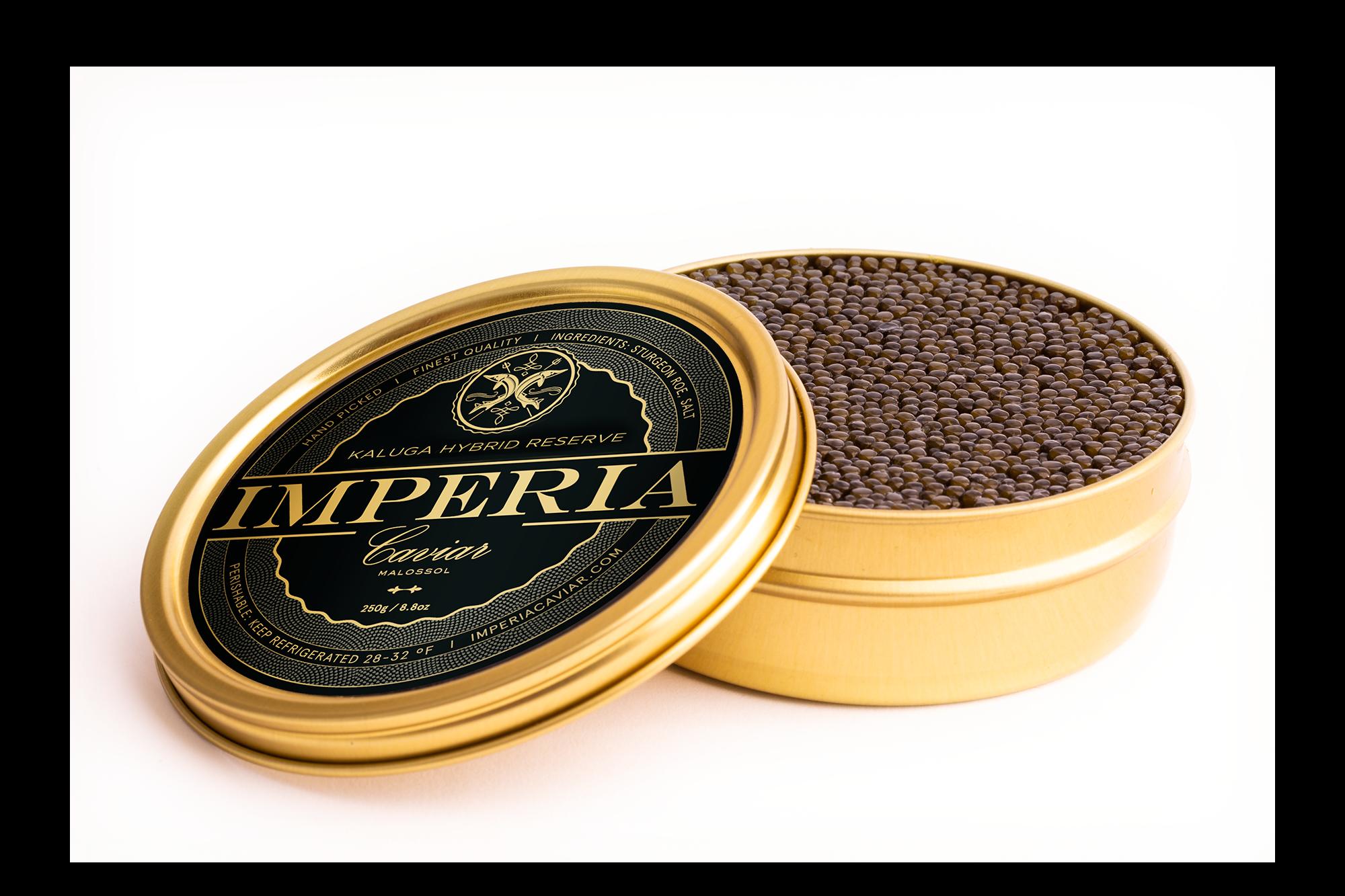 Imperia Caviar Tin