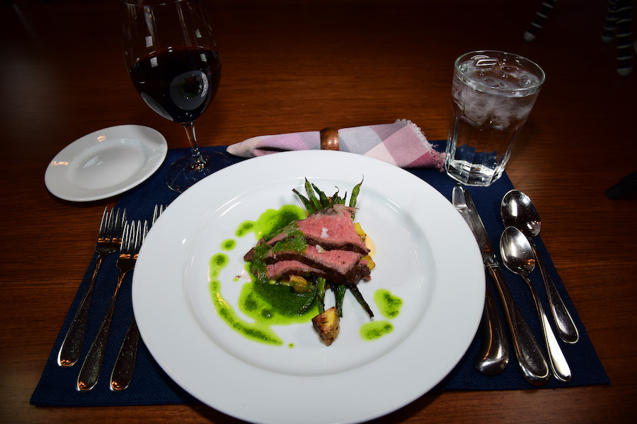 One of the best restaurants in Montana at Madison Valley Ranch.