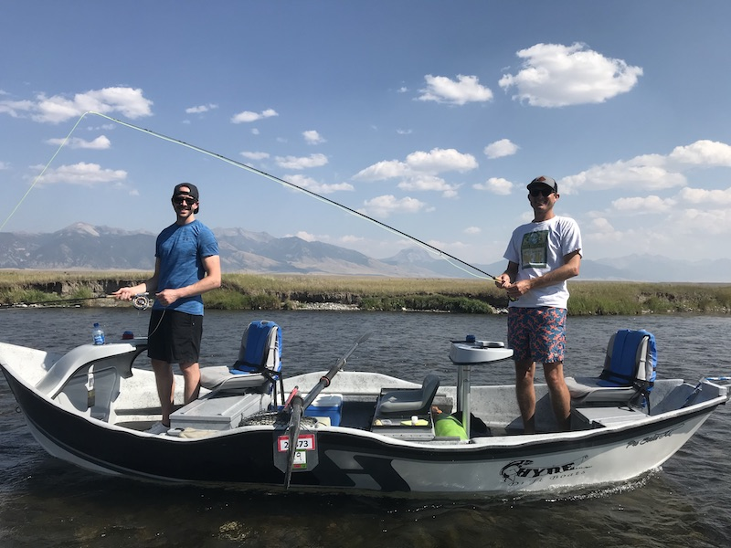 Drfit boat trip down the Madison River