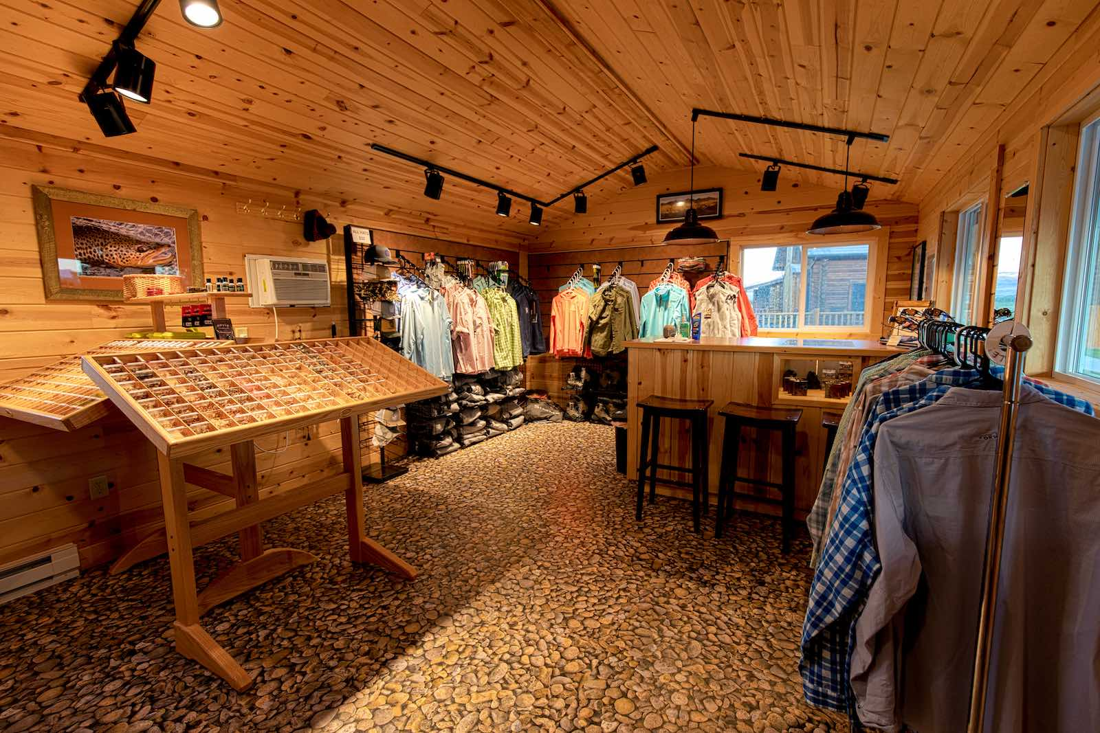Madison River fly shop at MVR