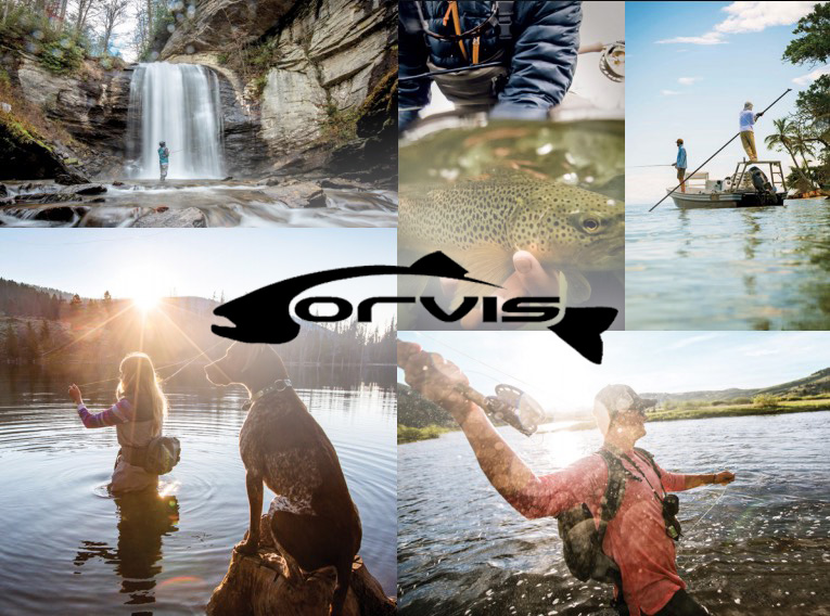 Image showing Orvis fly fishing.