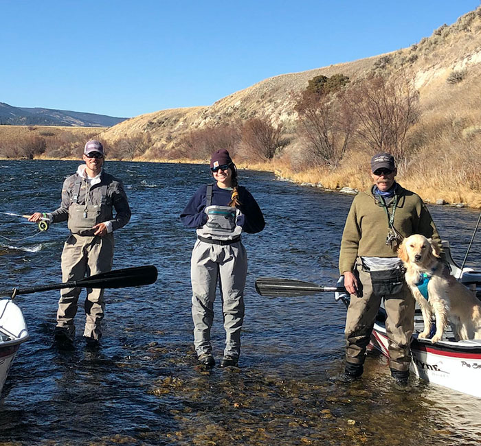 Eaton Outfitters fly fishing guides.