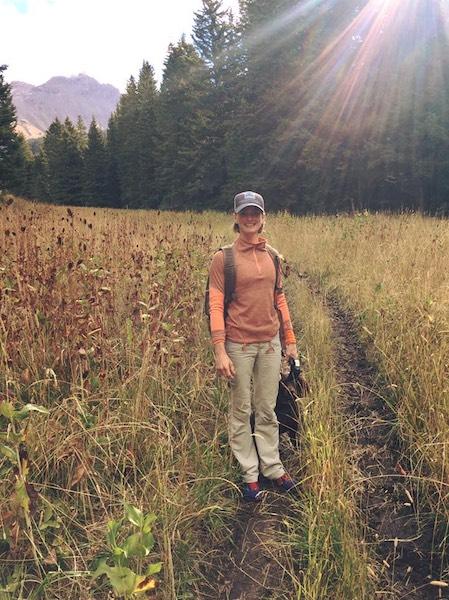 Hiking trail  near Ennis, Montana