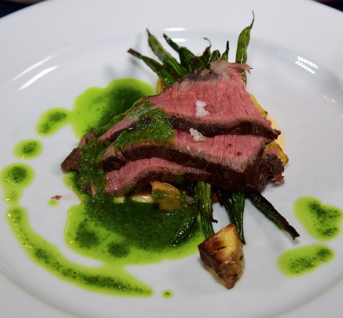 The best steak in Ennis, MT.