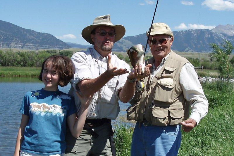Dan Larson fish flop