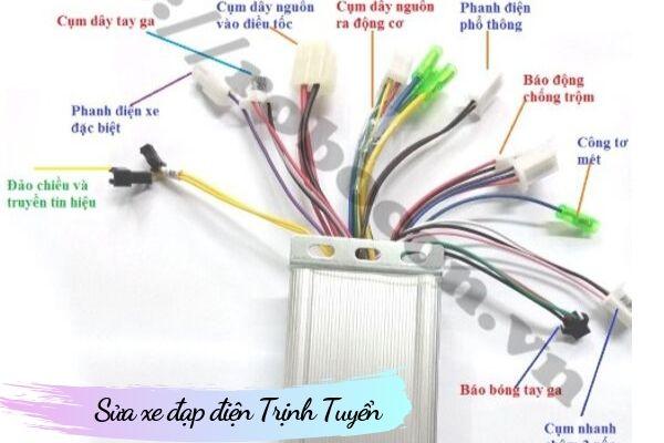IC điều tốc xe đạp điện