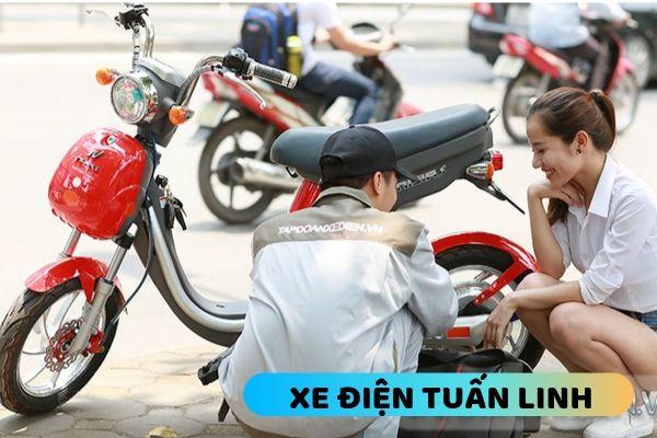 sửa xe đạp điện tại nhà ở Hoàng mai