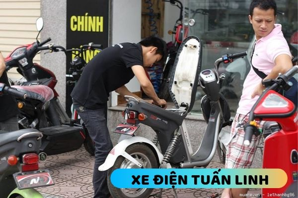 sửa chữa xe đạp điện tại Hai Bà Trưng