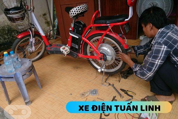 sửa xe đạp điện tại nhà ở Thanh Trì