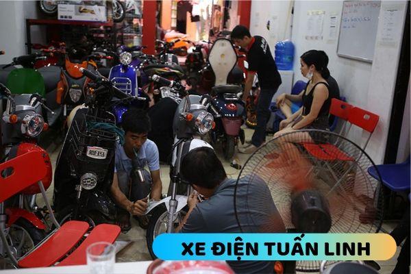 Sửa xe đạp điện tại Hai Bà Trưng